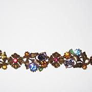 REDUCED Colorful Listner Bracelet and Earrings