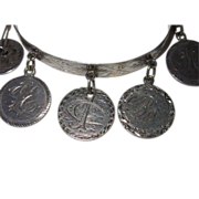 REDUCED Victorian Love Token Tambourine Bracelet