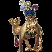 Vintage Napier Camel Brooch