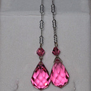 REDUCED Vintage Lariat Lavaliere Pink