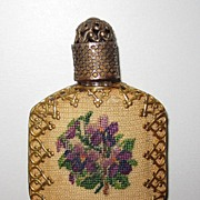 Vintage Perfume Pettipoint Decoration