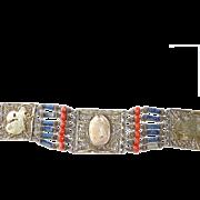 REDUCED Genuine Egyptian Scarab Bracelet Egyptian Revival