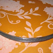 Vintage Ethnic Torque Necklace Silver