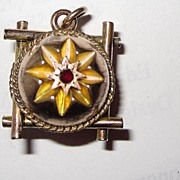 REDUCED Victorian Fob Gold Plated Fancy