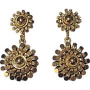 SALE Victorian Gold Filled Earrings Pretty!