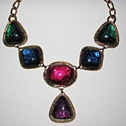 SALE Kenneth Lane Bright Beautiful Necklace
