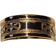 SALE Victorian Wedding Band