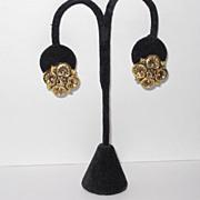 Yves St Laurent YSL Vintage Earrings