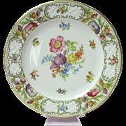 Schumann Empress Dresdner Flowers Salad Plate