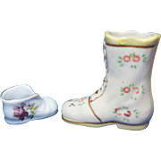 Collectible Miniature Boot and Micro-mini Shoe