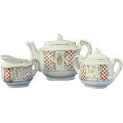 Mid 20th Century Five Piece Toy Tea Set