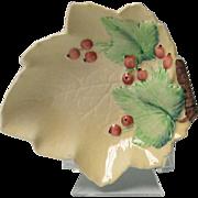 Mid Century Carlton Ware Leaf Shape Shallow Dish
