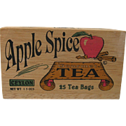 Ceylon Apple Spice Gourmet Tea Box