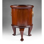 SALE Late 19th C. John Taylor & Son Mahogany Wine Cooler