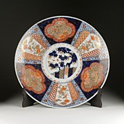 SALE 19th C. Japanese Imari Charger, Meiji