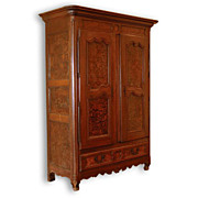 SALE 18th Century French Provincial Louis XVI Armoire