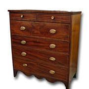 SALE American Federal Period Chest of Drawers