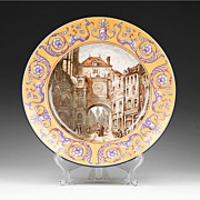 SALE Rouen Style French Faience Charger