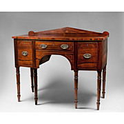 SALE 1820 Small Scale English Regency Rosewood and Mahogany Sideboard