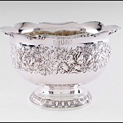 SALE Gorham Repousse Sterling Silver Bowl