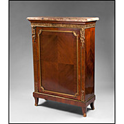 SALE 19th C. French Louis XV Gilt Bronze Mounted Side Cabinet