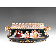 SALE 19th C. Royal Vienna Style Center Bowl