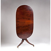 SALE Regency Tilt Top Oval Table