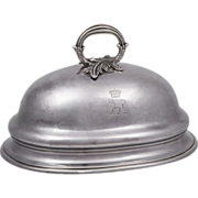 SALE Mid 19th C. Sheffield Silver Meat Cover Dome From Duke Of Wellington Service