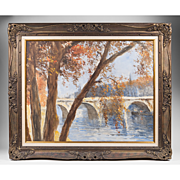 SALE Impressionist Oil On Canvas by Pal Fried