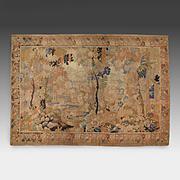 SALE Large 19th C. Flemish Landscape Hand Made Tapestry