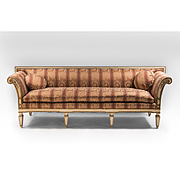 SALE Late 19th C. Swedish Gustavian Neoclassical Sofa