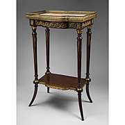 Napoleon III French Tiered Side Or Serving Table