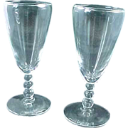 REDUCED Set 2 Imperial Candlewick Tall Whiskey Sour Glasses