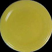 "Fiesta 15"" Chop Plate Yellow NM"
