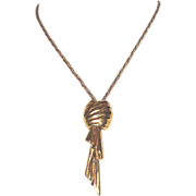 "SALE Elegant Big-Pendant MONET Necklace: ""Mad Men""-worthy!"