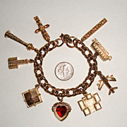 "SALE LAST CHANCE!  Traveler Charm Bracelet: ""Mad Men""-worthy"
