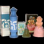 SALE MIB Avon Perfume Trio: Elizabethan, Wedding Bell, & Wedgwood Style