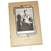 SALE Art Deco Cardboard Picture Frame