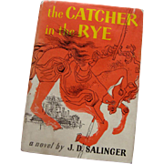 "'51 Hardback ""The Catcher in the Rye"" w/Dust Jacket: 3rd Edition"