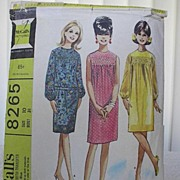 1966 Vintage Dress Pattern