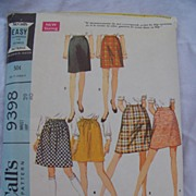 1968 McCall's Pattern 9398