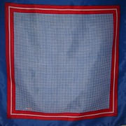 Vintage Red, White & Blue Scarf-Robinson/Golluber