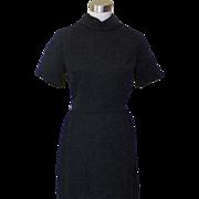 1960s Basic Little Black Wiggle Dress - Royal Park