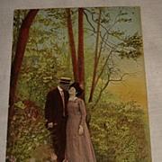 Vintage 1900 Romantic Post Card