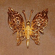 Monet Butterfly Pin