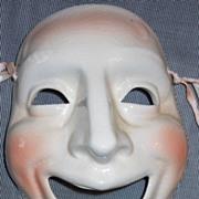 "Early Vandor "" Comedy "" Ceramic Wall Mask"