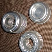 1950's Aluminum Jello Molds/Cake Molds