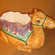 Vietri - Figural Camel Planter - Pot - Cachepot - Italian