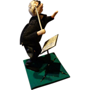 1960's Posable Doll - Music Conductor