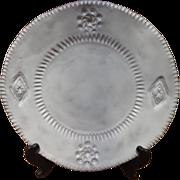 Vietri - Incanto - White Emblem Dinner Plate - Italy